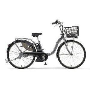 ヤマハ 26型 電動アシスト自転車 PAS With SP(グレーメタリック/内装3段変速)PA26BGWP9【2019年モデル】