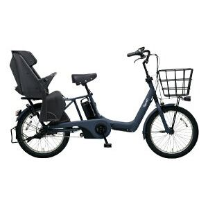パナソニック 20型 電動アシスト自転車 ギュット・アニーズ・DX(マットネイビー/内装3段変速)BE-ELAD03V【2019年モデル】