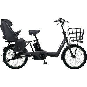 パナソニック 26型 電動アシスト自転車 ギュット・アニーズ・SX(マットジェットブラック/内装3段変速)BE-ELAS03B【2019年モデル】
