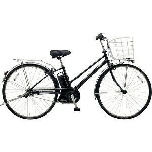パナソニック 27型 電動アシスト自転車 ティモ・DX(ピュアブラック/内装5段変速)BE-ELDT755【2019年モデル】