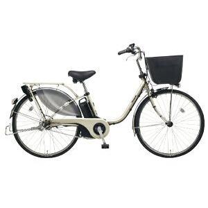 パナソニック 26型 電動アシスト自転車 ビビ・EX(STチタンシルバー/内装3段変速)BE-ELE635T【2019年モデル】
