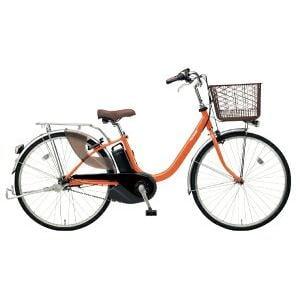 パナソニック 26型 電動アシスト自転車 ビビ・L(ラセットオレンジ/内装3段変速)BE-ELL63K【2019年モデル】