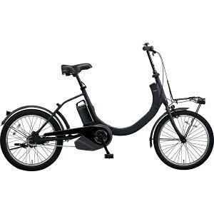 パナソニック 20型 電動アシスト自転車 SW(マットジェットブラック/シングルシフト) BE-ELSW01【2019年モデル】