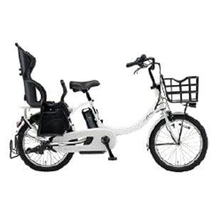 ヤマハ 20型 電動アシスト自転車 PAS Babby un(ピュアホワイト/内装3段変速)PA20DGXB9J【2019年・リヤチャイルドシート標準搭載モデル】