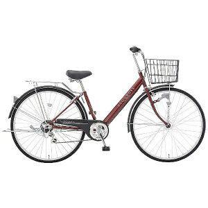 アサヒサイクル 27型 自転車 ジオクロスAT(AOレッド/外装6段変速)FV76AC