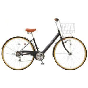 アサヒサイクル 27型 自転車 ジオクロスプラス 276BH(ツヤケシブラック/外装6段変速) FV76BH