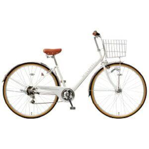 アサヒサイクル 27型 自転車 ジオクロスプラス 276BH(ホワイト/外装6段変速) FV76BH