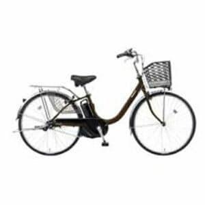 パナソニック BE-ELYX63T2 26型 電動アシスト自転車 ビビ・YX(スパークブラウン/内装3段変速)