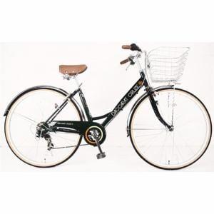 サイモト自転車 27型 自転車 ダカラットクルーズ シティHD-BAA(ボトルグリーン/外装7段変速)CV_W277R_HD_BAA_A