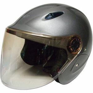 石野商会 MAX-207B セミジェットヘルメット MAXbikers 57cm~60cm未満 チタン