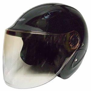 石野商会 MAX-207B セミジェットヘルメット MAXbikers 57cm~60cm未満 ブラック
