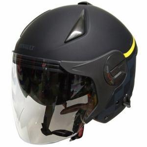 石野商会 RN-999W RENAULTダブルシールドジェットヘルメット RENAULTMOTORCYCLE 57cm~60cm未満 マットブラック