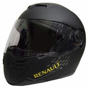 石野商会 RN-333 RENAULTシステムヘルメット RENAULTMOTORCYCLE 57cm~60cm未満 マットブラック