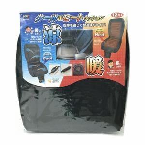 日本ボデーパーツ工業 BP-K004 クール&ヒートクッション  1個入 ブラック