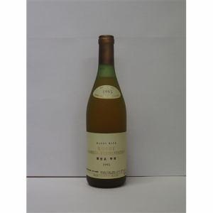 マンズワイン 樽仕込 甲州 1995 果実酒(ワイン) 720ml 14度