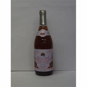 アントワーヌ・シャトレ ボージョレ・ヴィラージュ・ヌーヴォー ロゼ 2008 果実酒(ワイン) 750ml 12度