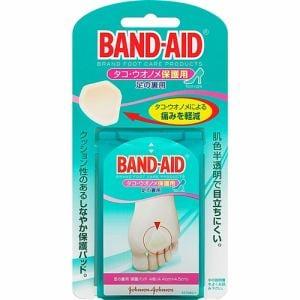 ジョンソン・エンド・ジョンソン(Johnson & Johnson) バンドエイド(BAND-AID) タコ・ウオノメ保護用 足の裏用 (4枚入) 【衛生用品】