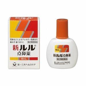 第一三共ヘルスケア(Daiichi-Sankyo) 新ルル点鼻薬 16mL 【第2類医薬品】