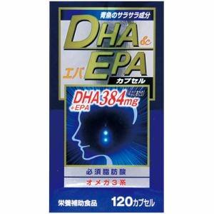 ウエルネスジャパン DHAエパ (120カプセル) 【ビューティーサポート】
