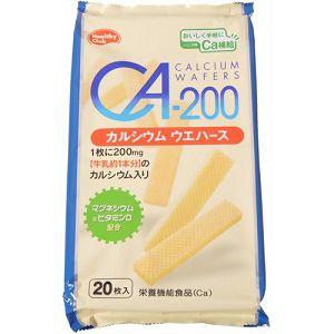 ハマダコンフェクト 機能性ウエハース Ca-200カルシウムウエハース 20枚 【栄養機能食品】