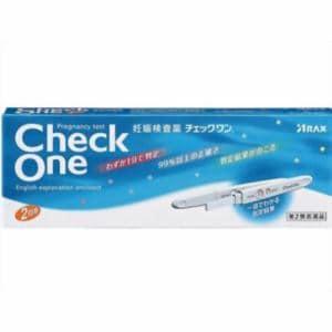 アラクス(ARAX) チェックワン 妊娠検査薬 (2回用) 【第2類医薬品】