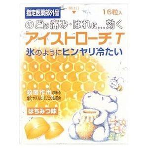 日本臓器製薬 アイストローチT ハチミツ味 (16錠) 【医薬部外品】