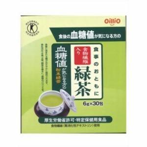 日清オイリオグループ 食事のおともに食物繊維入り緑茶 (6g×30包) 【特定保健用食品】