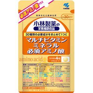小林製薬 マルチビタミンミネラル必須アミノ酸 120粒 【栄養機能食品】