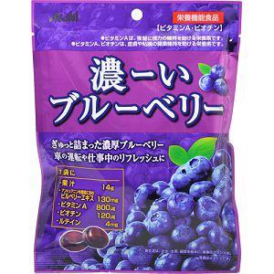アサヒ 濃ーいブルーベリー 84g 【栄養機能食品】