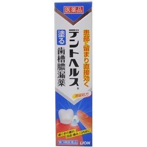 ライオン(LION) デントヘルスR (20g) 【第3類医薬品】