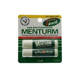 近江兄弟社 メンターム 薬用スティック エコノミー2個パック 【医薬部外品】