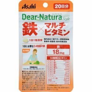 アサヒフードアンドケア(Asahi) アサヒ ディアナチュラスタイル 鉄×マルチビタミン 20粒 【栄養機能食品】