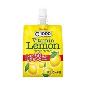 ハウスウェルネスフーズ C1000 ビタミンレモンゼリー (180g)【栄養補助】
