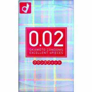 オカモト(okamoto) うすさ均一 0.02EX グランズフィット (6個) 【医療機器】