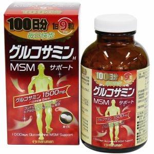 マルマン(maruman) グルコサミン&MSMサポート (900粒) 【健康補助食品】