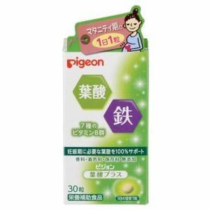 ピジョン (pigeon) ピジョンサプリメント 葉酸プラス 徳用 (30粒入) 【健康補助食品】