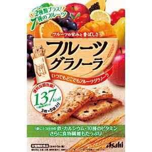 アサヒ バランスアップ フルーツグラノーラ 150g(3枚×5袋) 【栄養機能食品】