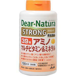 アサヒフードアンドヘルスケア(Asahi) アサヒ ディアナチュラ ストロング 39種アミノマルチビタミン&ミネラル 100日分 300粒 【栄養機能食品】