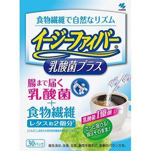 小林製薬 イージーファイバー 乳酸菌プラス 30包 【健康補助】