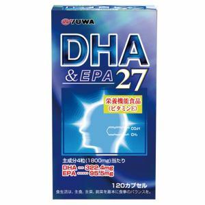 ユーワ(YUWA) DHA&EPA27  (120カプセル) 【栄養補助食品】