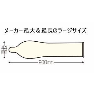 ジャストフィット スーパーラージ (コンドーム) 【医療機器】 (12個入)
