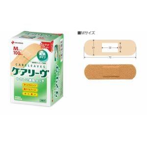 ニチバン ケアリーヴ Mサイズ やさしい素肌タイプ(100枚入)CL100M【医療機器】