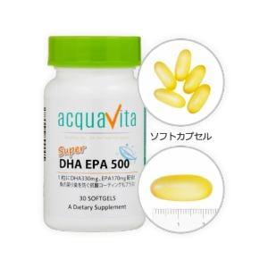 ACQUA アクアヴィータ スーパーDHAEPA500 (30粒) 【ビューティーサポート】
