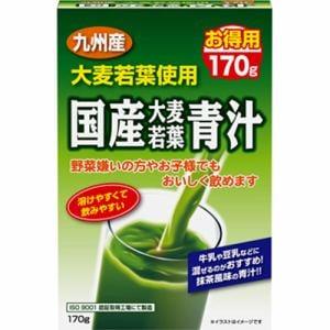 ユーワ 国産大麦若葉青汁 (170g)【栄養補助食品】