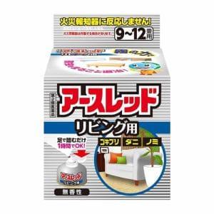 アース製薬 アースレッド リビング用 9~12畳用 (69.75g) 【第2類医薬品】