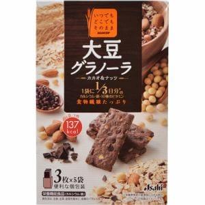 アサヒフードアンドヘルスケア(Asahi) バランスアップ 大豆グラノーラ カカオ&ナッツ (150g(3枚×5袋)) 【栄養機能食品】