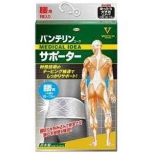 KOWA 【バンテリンコーワサポーター】腰用ゆったり大きめ シャイニンググレー
