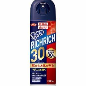 アース製薬 医薬品サラテクト リッチリッチ30 (200mL) 【第2類医薬品】