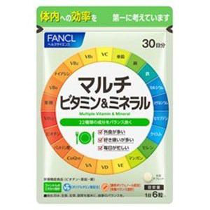 ファンケル FANCL FANCL(ファンケル) マルチビタミン&ミネラル 30日分 (180粒) 栄養補助食品