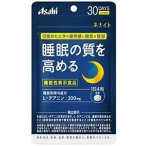 アサヒフードヘルスケア 【機能性表示食品】ネナイト 30日分 120粒